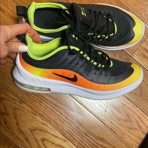 Nike air sneakers neon